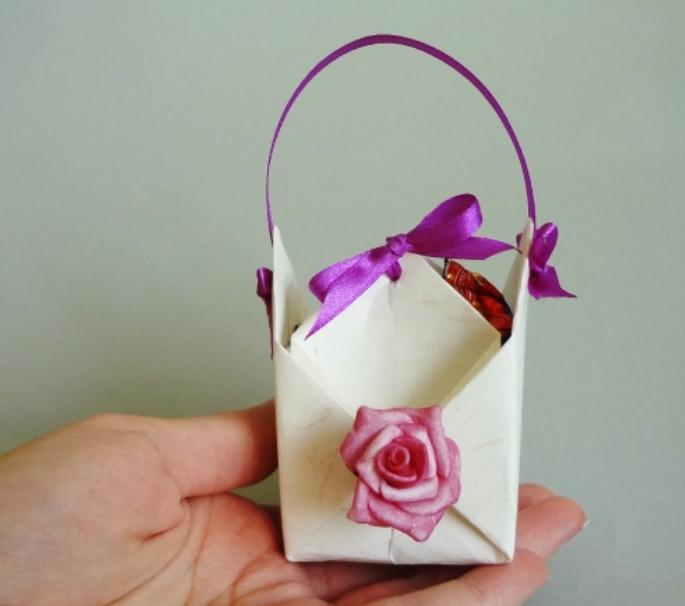 Коробочка для подарка для детей