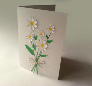 Подарок маме на 8 марта. Как сделать легкую открытку (21)