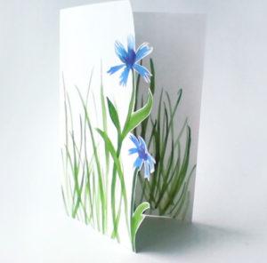 Подарок маме на 8 марта. Как сделать легкую открытку (3)