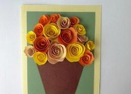Подарок маме на 8 марта. Как сделать легкую открытку (33)
