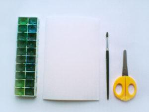 Подарок маме на 8 марта. Как сделать легкую открытку (4)