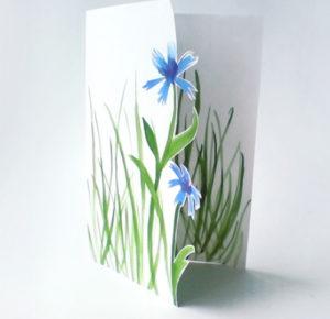 Подарок маме на 8 марта. Как сделать легкую открытку (6)