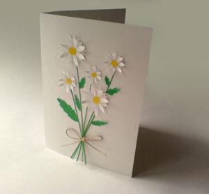 Подарок маме на 8 марта. Как сделать легкую открытку (7)