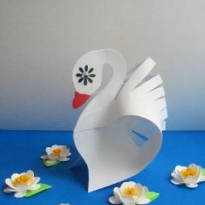 Птицы из картона своими руками (11)