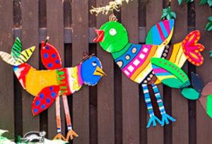 Птицы из картона своими руками (29)