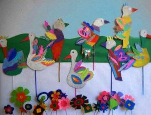 Птицы из картона своими руками (31)