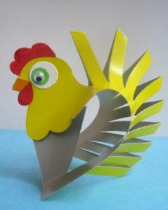 Птицы из картона своими руками (4)
