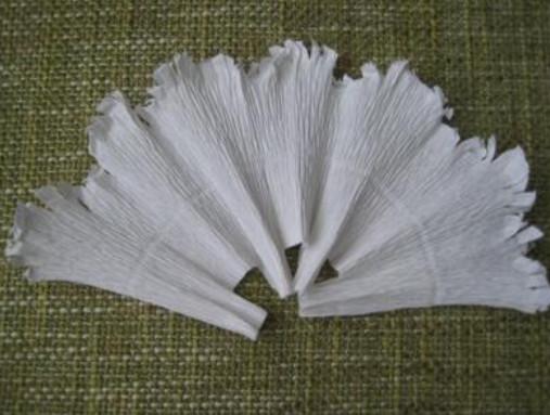 Голубь своими руками из гофрированной бумаги
