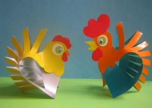 Птицы из картона своими руками (5)