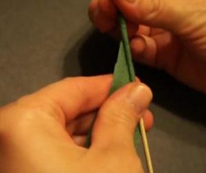 Розочки из салфеток своими руками (53)