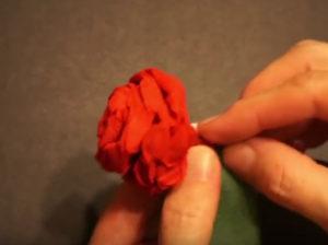 Розочки из салфеток своими руками (64)