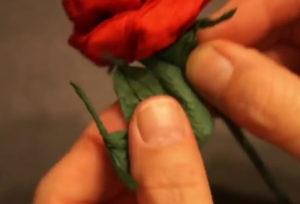 Розочки из салфеток своими руками (78)