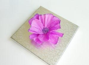 Самые простые цветы из бумаги своими руками (10)