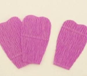 Самые простые цветы из бумаги своими руками (12)