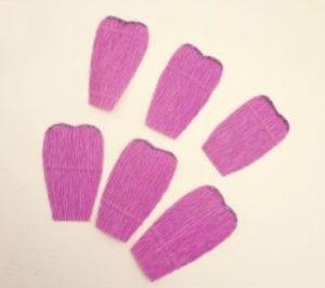 Самые простые цветы из бумаги своими руками (14)