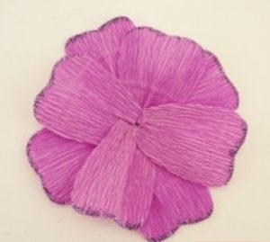 Самые простые цветы из бумаги своими руками (17)