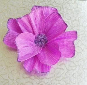 Самые простые цветы из бумаги своими руками (18)