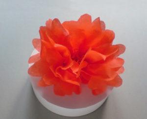 Самые простые цветы из бумаги своими руками (20)