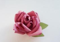 Самые простые цветы из бумаги своими руками (31)