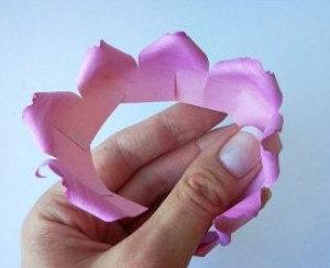 Самые простые цветы из бумаги своими руками (4)