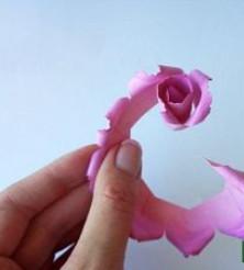 Самые простые цветы из бумаги своими руками (5)