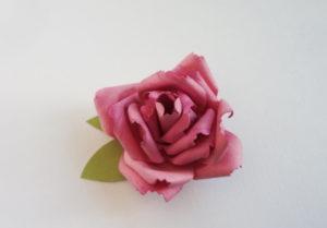 Самые простые цветы из бумаги своими руками (8)