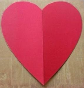Не сложные валентинки своими руками (15)