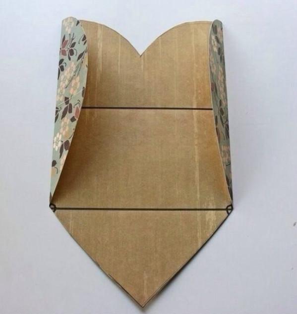 Как сделать валентинку оригинальную из бумаги