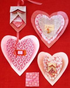 Не сложные валентинки своими руками(20)