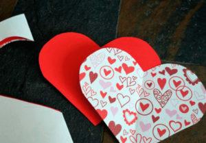 как сделать сердечко из бумаги своими руками (1)