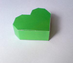 как сделать сердечко из бумаги своими руками (12)