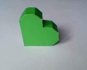 как сделать сердечко из бумаги своими руками (13)