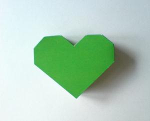 как сделать сердечко из бумаги своими руками (14)