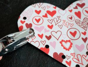 как сделать сердечко из бумаги своими руками (2)