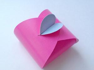 как сделать сердечко из бумаги своими руками (20)