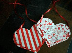 как сделать сердечко из бумаги своими руками (3)