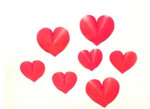 как сделать сердечко из бумаги своими руками (33)