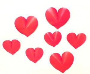как сделать сердечко из бумаги своими руками (39)