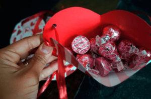 как сделать сердечко из бумаги своими руками (4)