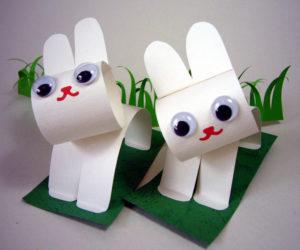 животные из бумаги своими руками (4)