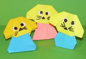 животные из бумаги своими руками (9)