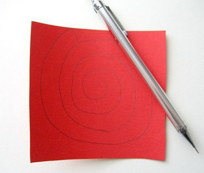 Из бумажных спиралей (1)