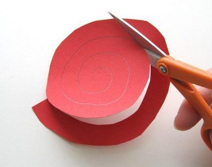 Из бумажных спиралей (2)