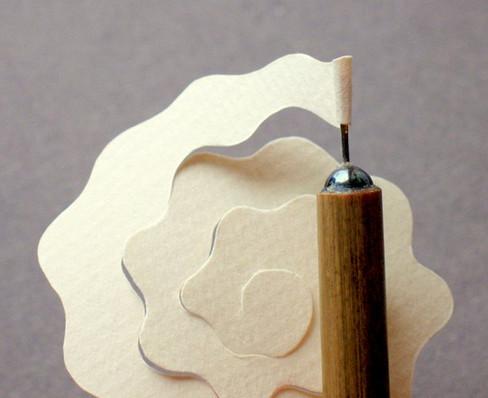 Из бумажных спиралей (38)