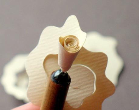 Из бумажных спиралей (41)