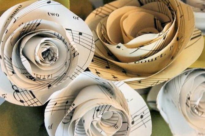 Из бумажных спиралей (7)