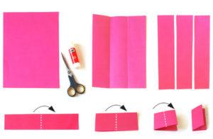 Как делать сердечки из бумаги (24)