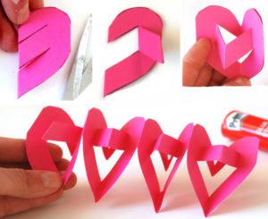 Как делать сердечки из бумаги (27)