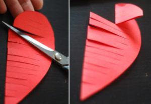 Как делать сердечки из бумаги (37)