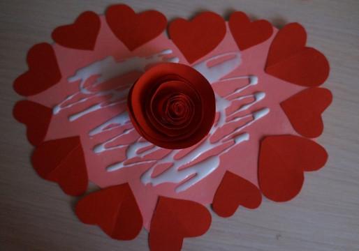 Как делать сердечки из бумаги (51)